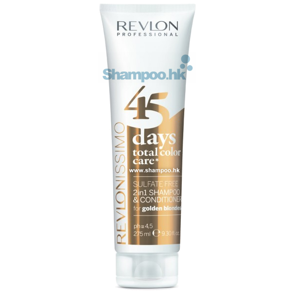 cleanse care shampoo revlon 45 days total color care