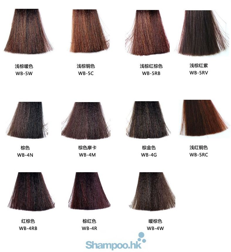 Chemical Treatments Hair Color Products Permanent